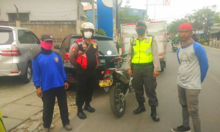 Unit Patroli R2 Polsek Cipondoh Gelar Patroli di BANK BCA lake